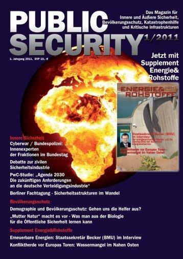 Innere Sicherheit Cyberwar / Bundespolizei ... - Public Security