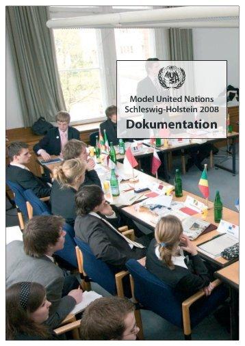 Dokumentation MUN-SH 2008