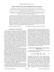 Order by disorder in spin-orbit-coupled Bose-Einstein condensates