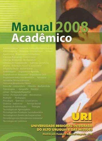ciência da computação - URI-Reitoria - Universidade Regional ...