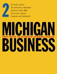 1399 MBA book 2 - Stephen M. Ross School of Business - University ...