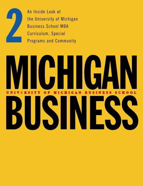 1399 MBA book 2 - Stephen M. Ross School of Business - University ...