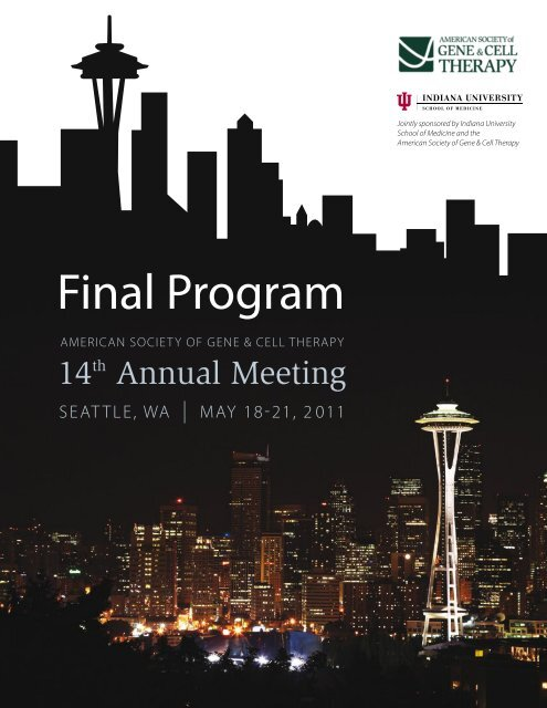 Final Program American Society Of Gene Cell Therapy