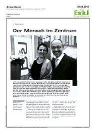 Der Mensch im Zentrum - Essl Social Prize