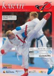 DKV Magazin 1-2013 - Chronik des Karate