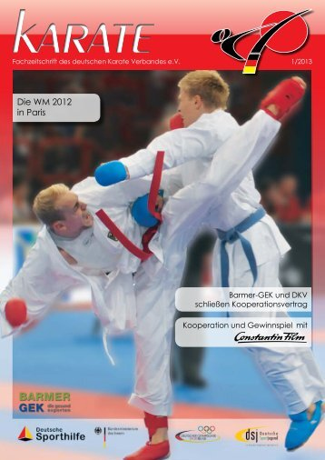 DKV Magazin 1-2013 - Chronik des Karate