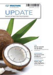Kundenmagazin UPDATE 2/2011 - Als PDF downloaden - Multivac