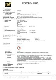SAFETY DATA SHEET - US Pharmacopeial Convention