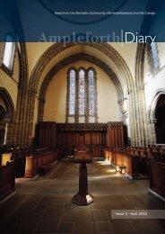 Issue 2 - April 2010 - Ampleforth College