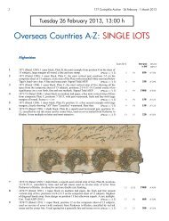 Overseas Countries A-Z: SINGLE LOTS - Corinphila