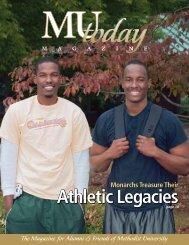 Athletic Legacies Athletic Legacies - Methodist University