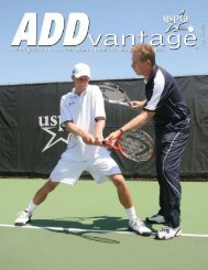 April 2008 - United States Professional Tennis Association