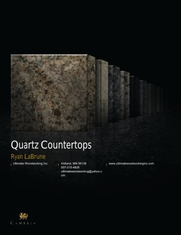 Quartz Countertops - Cambria