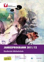 Jahresprogramm 2011/12