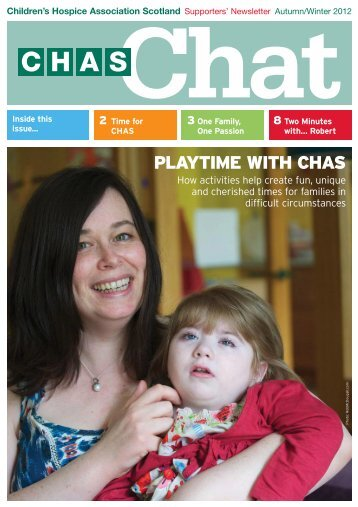 CHAS Chat Autumn/ Winter 2012 … Download