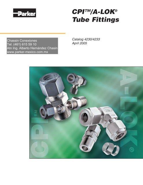 CPI™/A-LOK® Tube Fittings - Chassin Conexiones