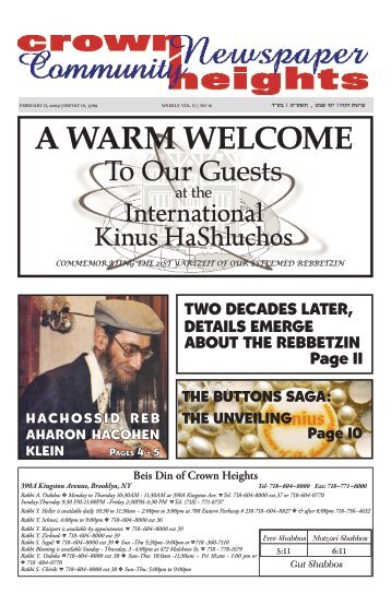 to download the newspaper in PDF - Crown Heights News