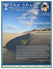 Bulletin10.16.2010 - Lech Lecha.pub