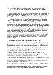 3) Ethical religiosity's wisdom guide a modernize ... - Echezkel Veksler