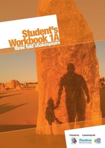 Student's Workbook 1A - Shakespeare WA