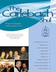 Rabbi Naftali Citron - Carlebach Shul
