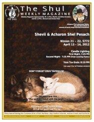04.14.2012 Shevii Shel Pesach