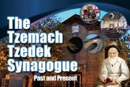 Tzemach Tzedek Synagogue - Past & Present - Baltimore Jewish Life