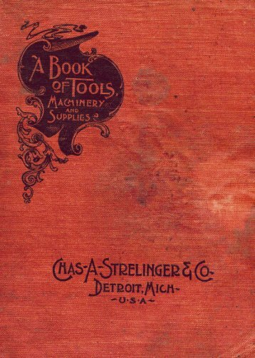Chas. A. Strelinger Co. telephone catalogue pages