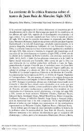 La corriente de la crítica francesa sobre el - Centro Virtual Cervantes