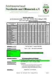 zur Kreismeisterschaft: 1.36 / KK - Gewehr 100 m Auflage lt. DSB am ...