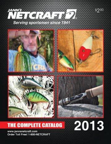Jann's Netcraft 2013 Fishing Catalog
