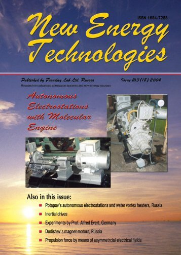 Issue 17 - Free-Energy Devices