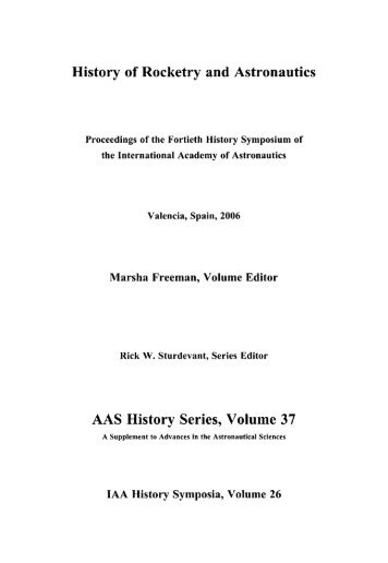 History of Rocketry and Astronautics