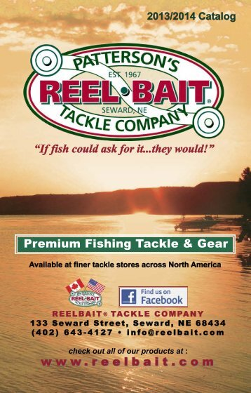 PDF CATALOG large file - let download - ReelBait Tackle Company