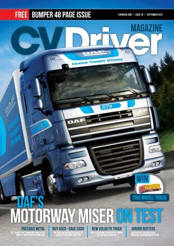 to open our 18th edition - CVDriver