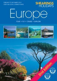 View Brochure - The Travel House