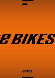 KTM eBikes 2013
