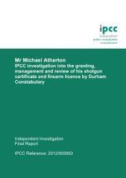 Mr Michael Atherton