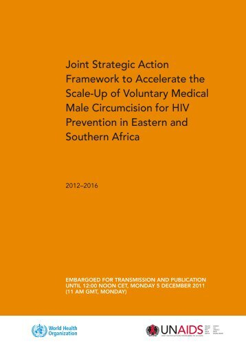 Joint Strategic Action Framework to Accelerate the Scale-Up - Pepfar