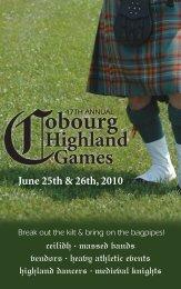 Cobourg Highland Games - Fresh Ideas