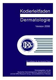 Kodierleitfaden Dermatologie - Derma.de