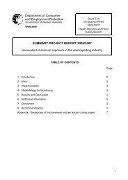 Hexavalent chromium - Department of Commerce