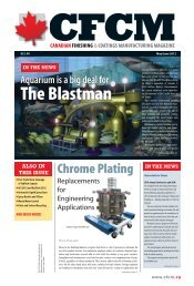 Chrome Plating - CFCM Magazine