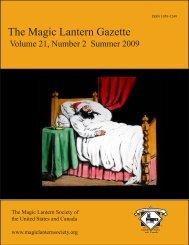 The Magic Lantern Gazette - Library