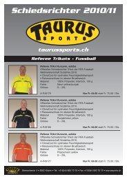 Schiedsrichter 2010/11 - Taurus Sports