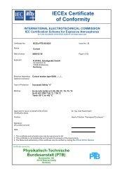 IECEx PTB 06.0025 - r. stahl