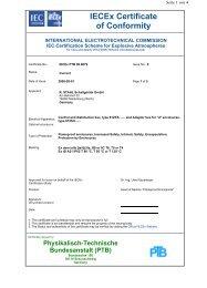 IECEx PTB 06.0079 - r. stahl