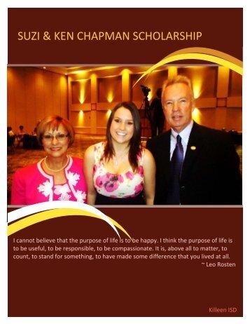 suzi & ken chapman scholarship - Killeen Independent School District