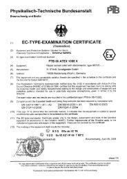 PTB 06 ATEX 1008 X - r. stahl
