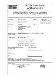 IECEx PTB 09.0048 - r. stahl